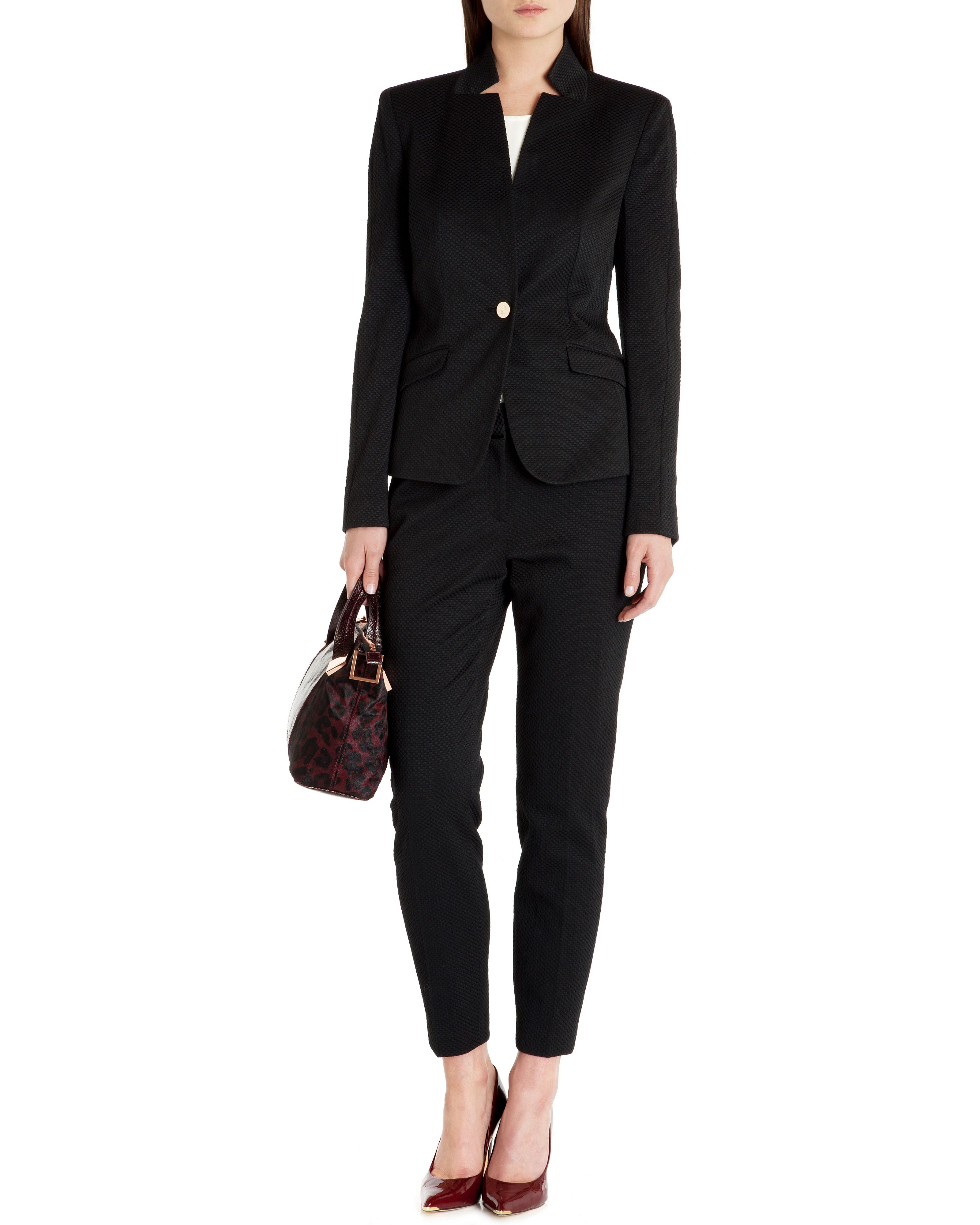 Skylert textured suit trouser