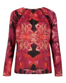 Zacci jungle orchid top