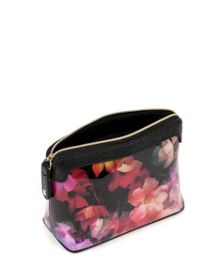 Emoni small cascading floral wash bag