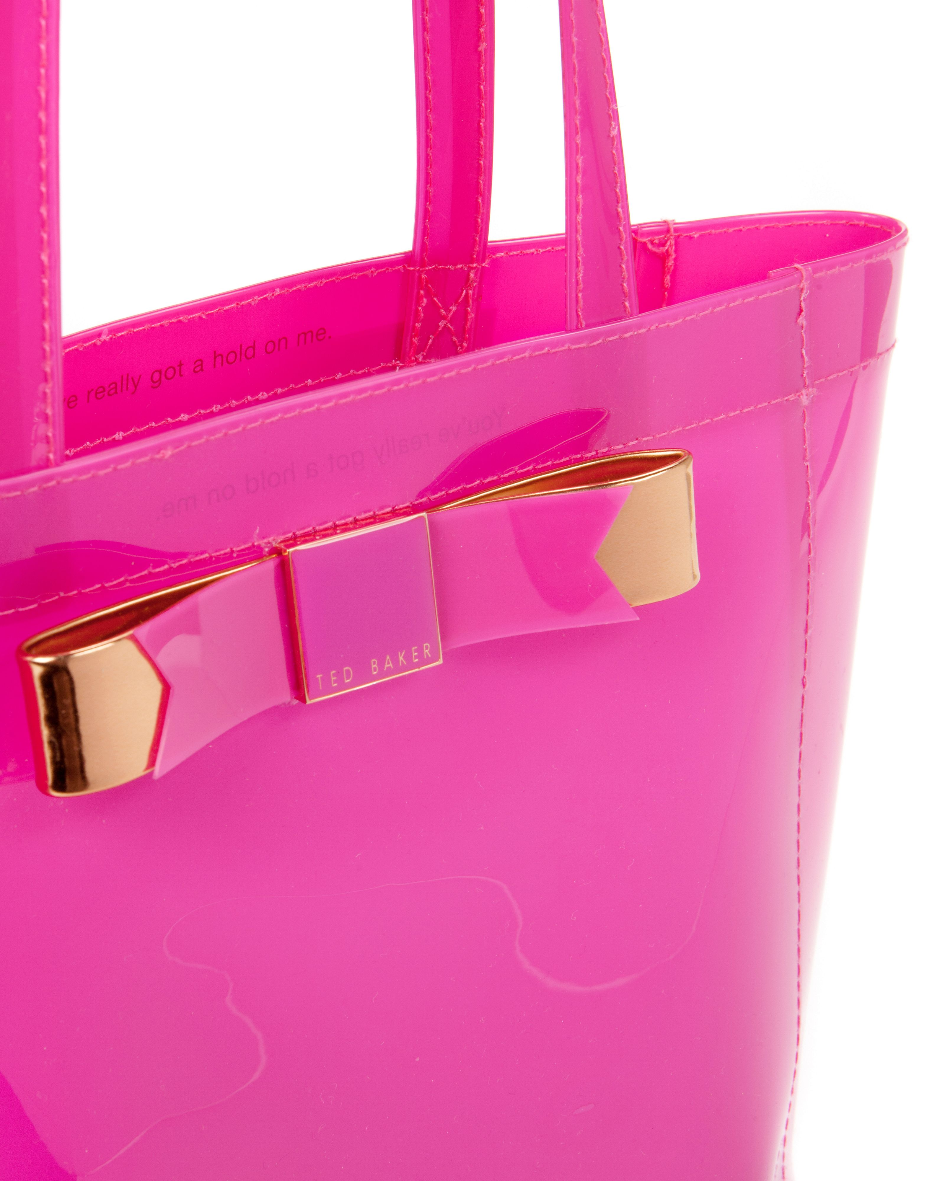 Revcon small bow shopper bag