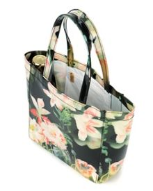 Mintin floral shopper with umbrella