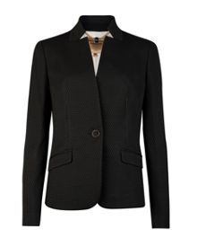 Rai textured suit jacket