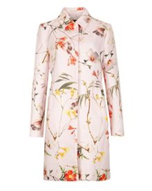 Bailyey botanical bloom printed coat