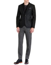 Pladlap wool check mix blazer