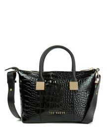 Fauna exotic metal squares small tote