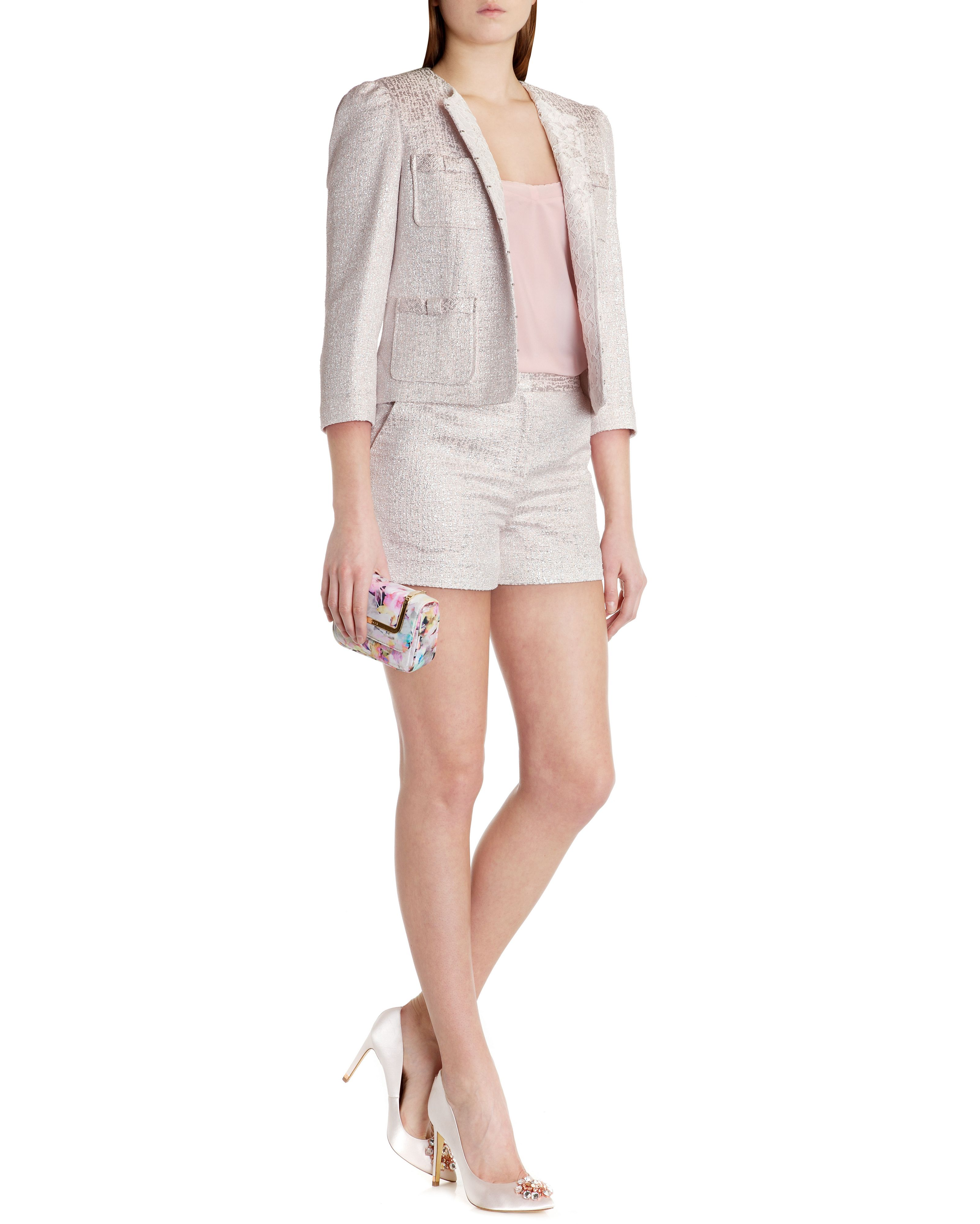 Filica Bow pocket suit jacket