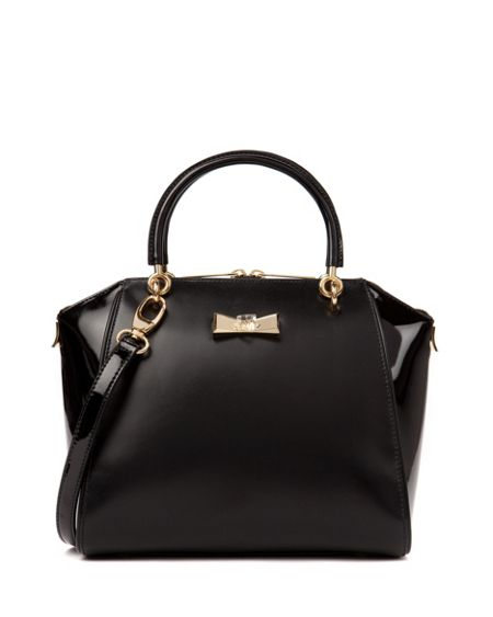Ted Baker Petra Small crystal bow tote