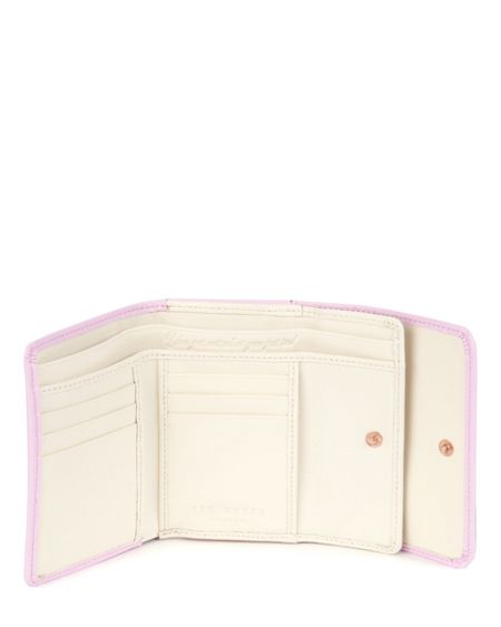 Ted Baker Caaro Bow leather small purse