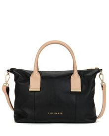 Artemis leather tote bag