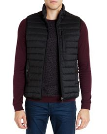 Warmy quilted down gilet