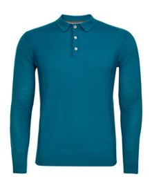 Pontsun Merino Plain Regular Fit Polo Shirt