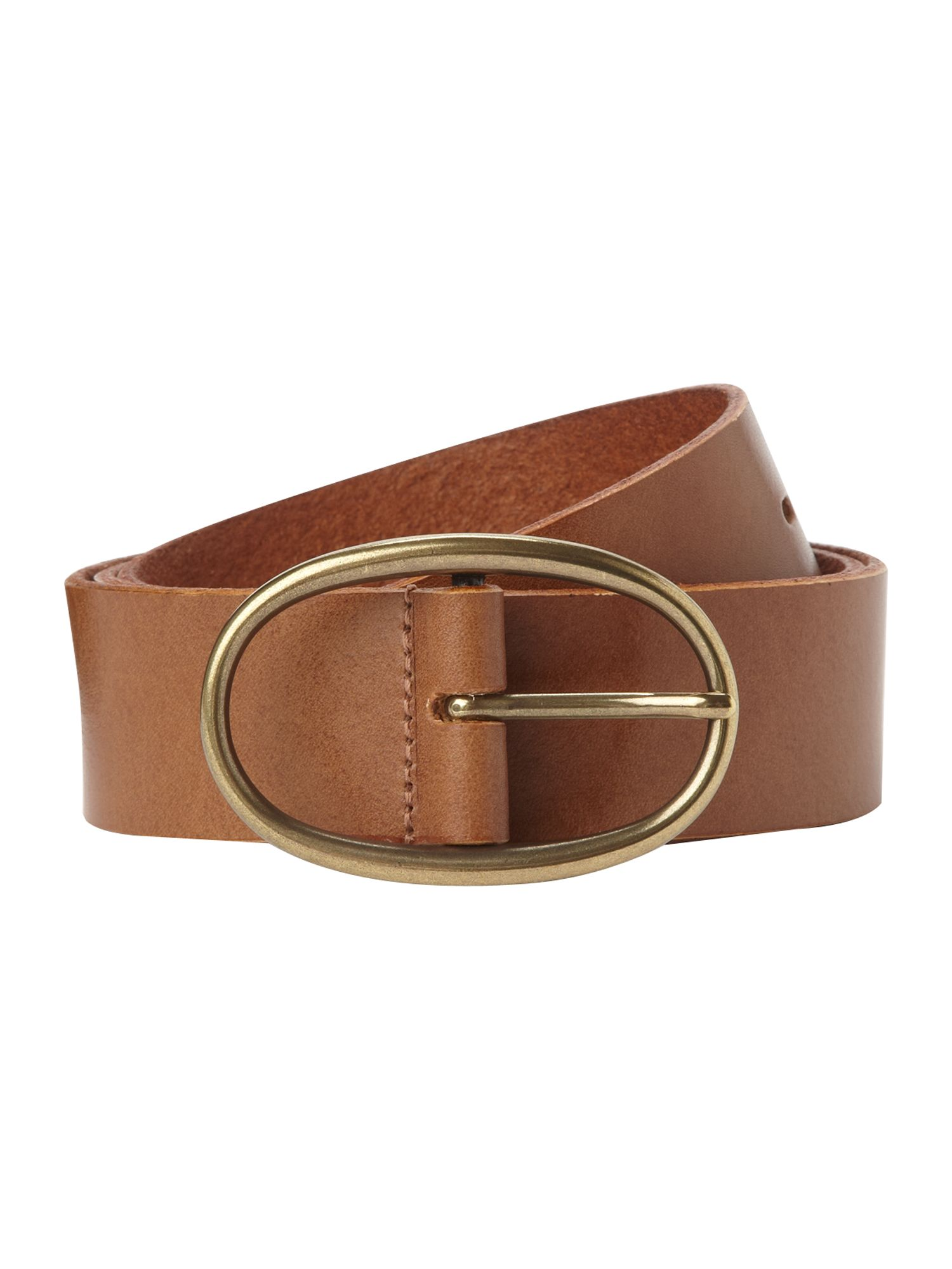 Women`s casual leather belt