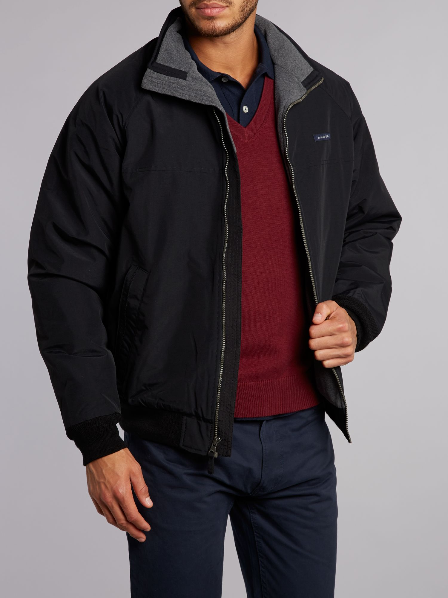Men`s regular classic squall jacket