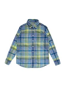 Boy`s buttondown poplin shirt