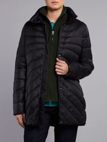 Featherlight down parka