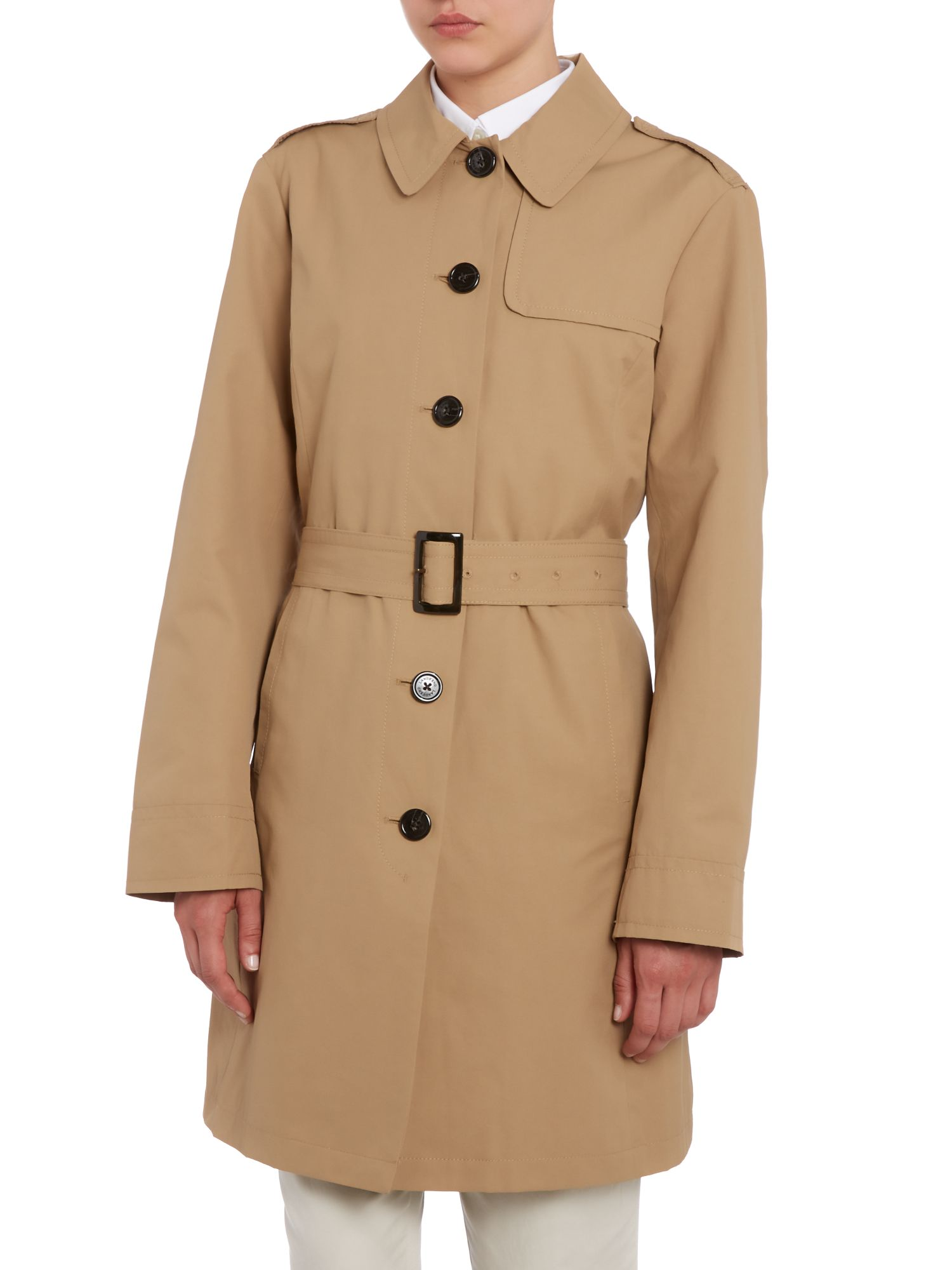 Harbour trench coat