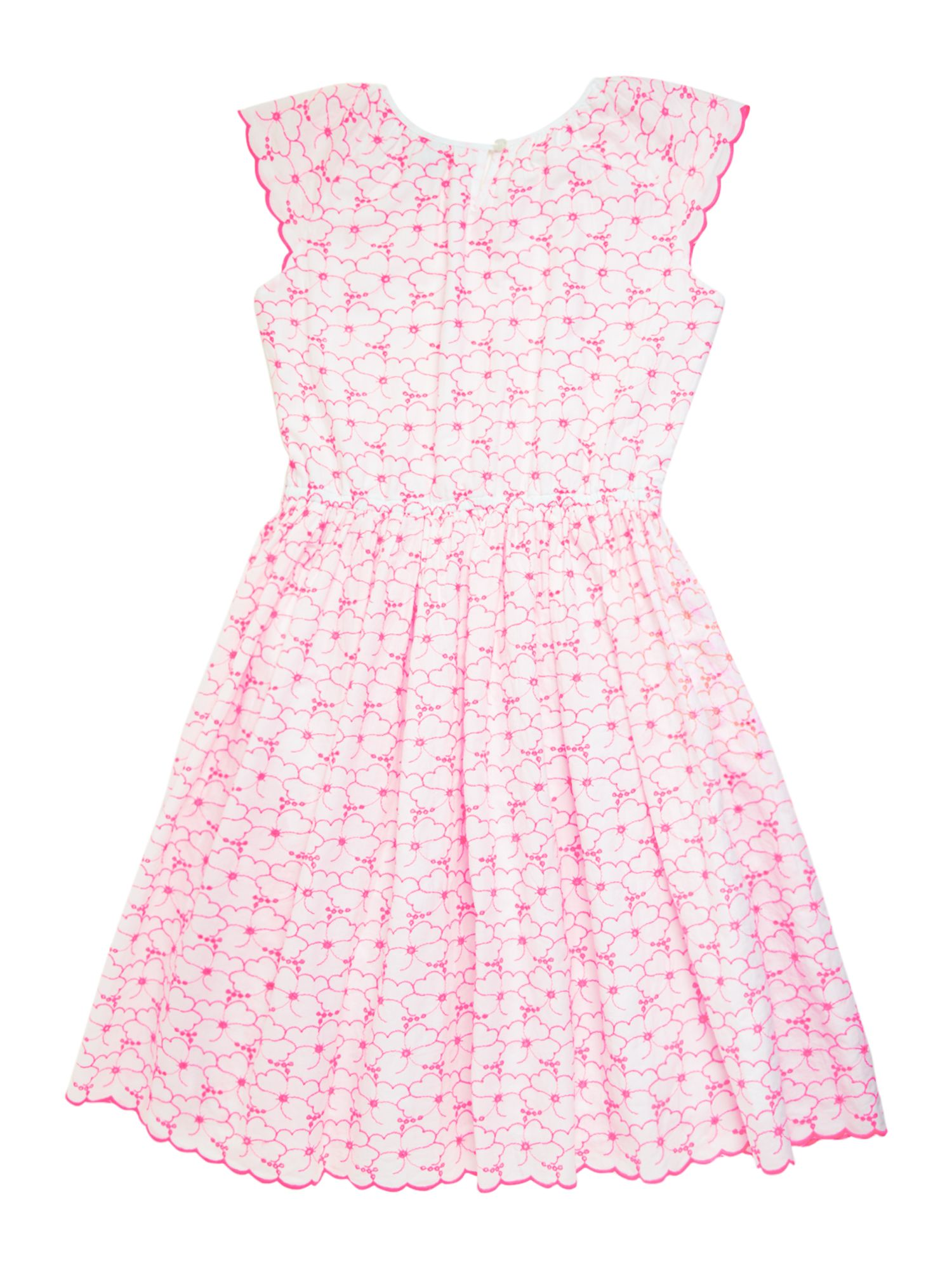 Girls Broderie Anglais Twirl Dress
