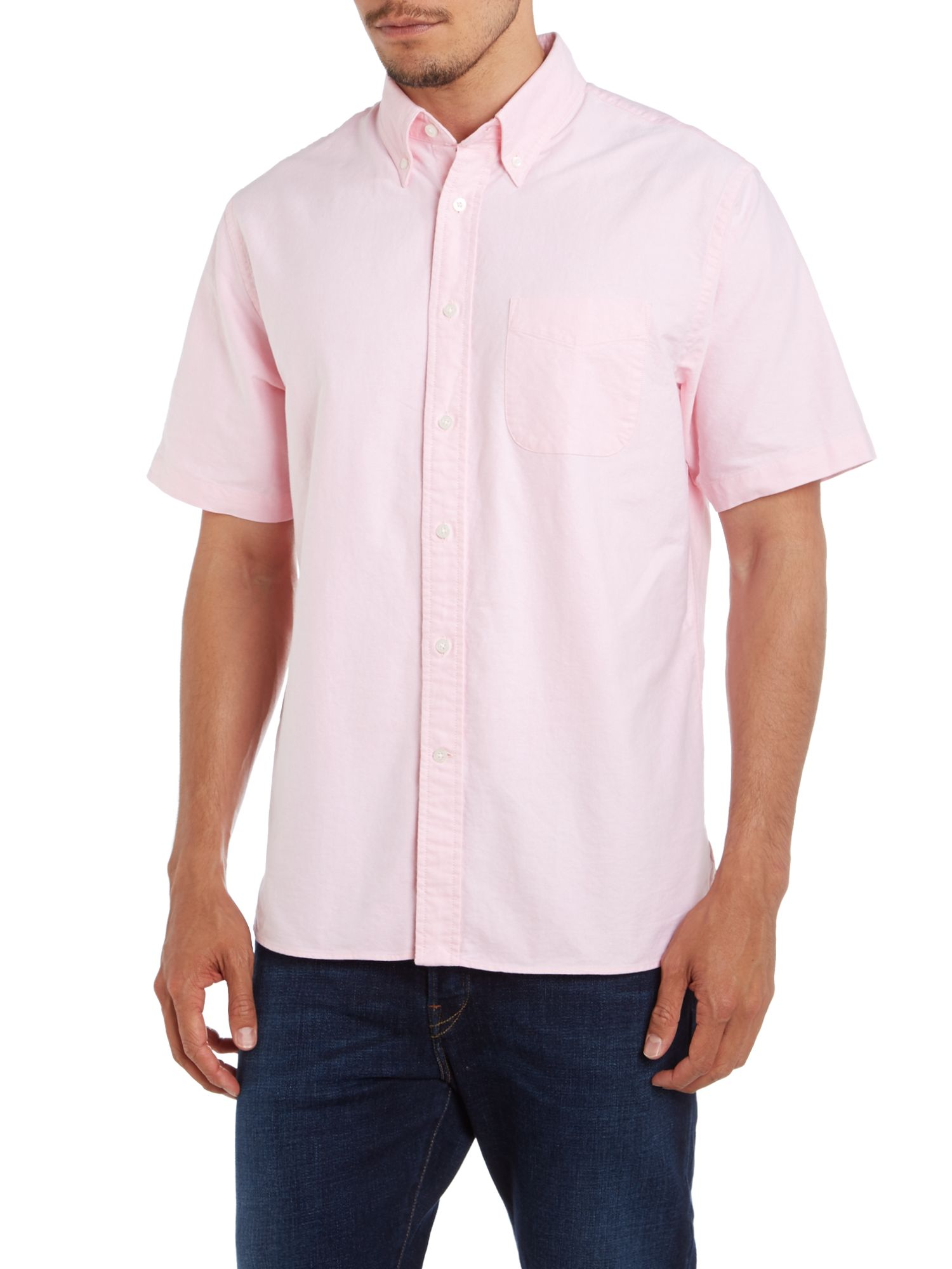 Short sleeve sail rigger oxford shirt
