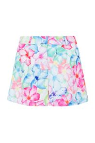 Hawaii floral tailored shorts