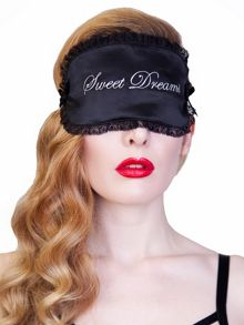 Playful Promises Sweet Dreams Eye Mask