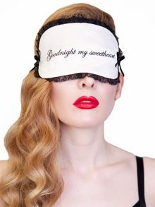 Playful Promises  Goodnight  Eye Mask