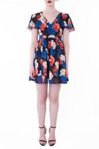 Whistle & Wolf Winter Floral Dress