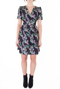 Wolf & Whistle Mexican Floral Tea Dress