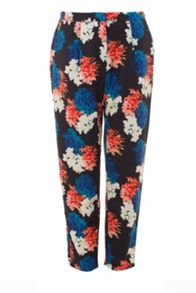 Wolf & Whistle Winter Floral Trousers
