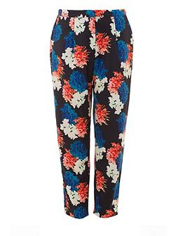 Winter Floral Trousers