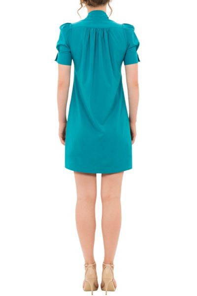 Wolf & Whistle Bow Front Shirt Dress