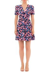 Wolf & Whistle Ditsy Tea Dress
