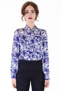 Wolf & Whistle Blossom bow blouse