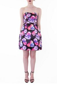 Wolf & Whistle Lilac rose prom dress