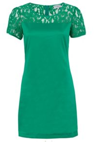 Wolf & Whistle Lace Panel Shift Dress