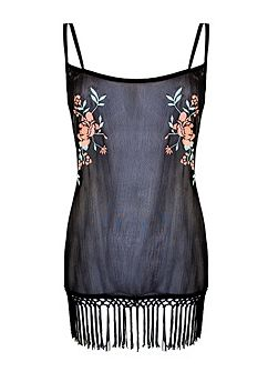 Emily embroidered chemise