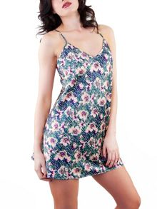 Playful Promises Lotus print nightdress