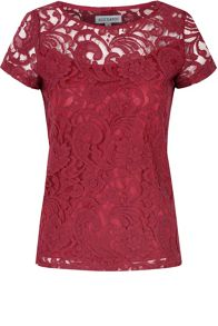 Alice & You Lace T-Shirt