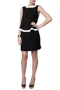 Peplum Mid Length Dress