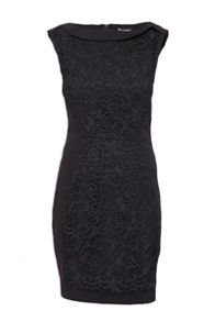 Indulgence Fitted Lace Panel Dress