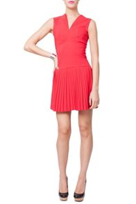 Indulgence Pleat Bottom Dress