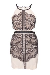 Indulgence Lace Side Cut Dress