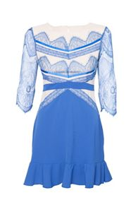 Indulgence Lace Detailed Dress