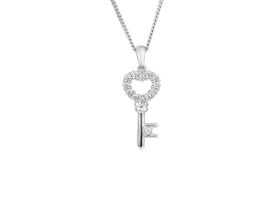Key of love necklace