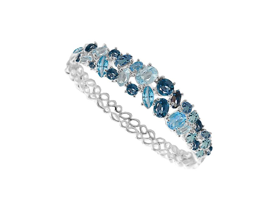 Blue spice bangle