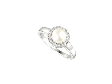 Amore Argento Pearl candy ring
