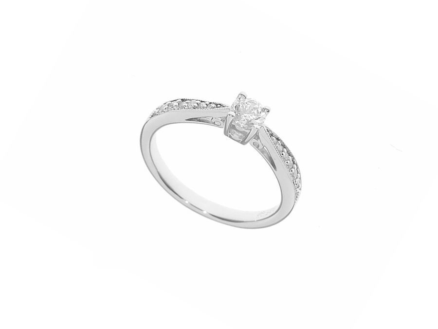 Amore Argento It`s love ring