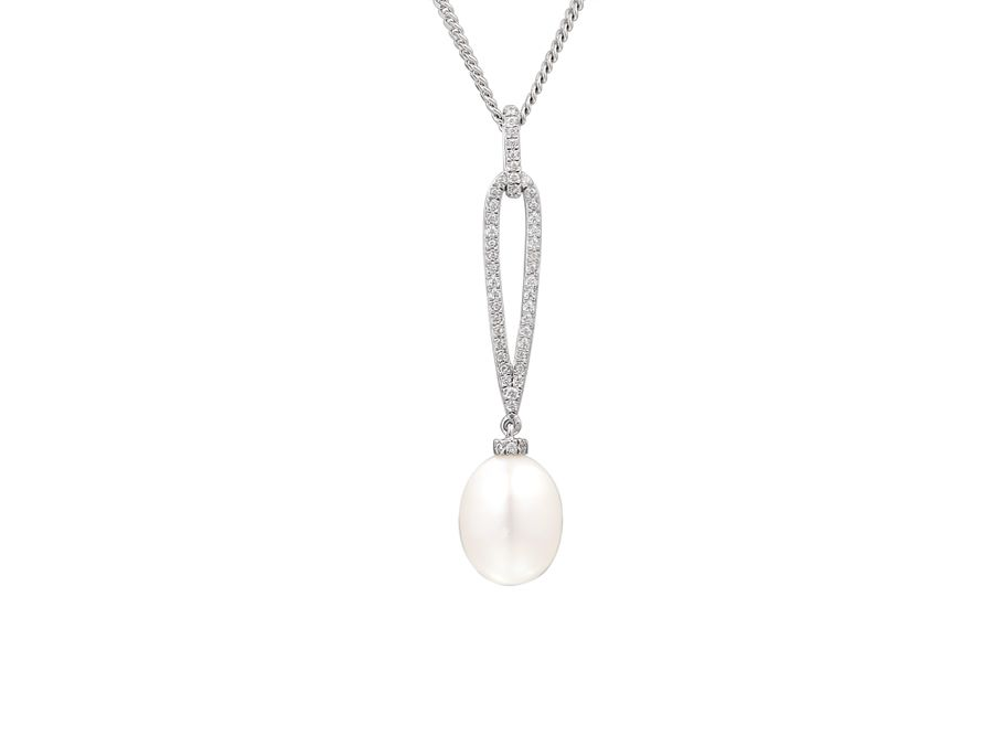 Pearldrop necklace