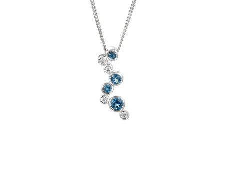 Amore Argento Rhapsody in blue necklace