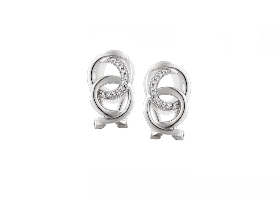 Harmony clip earrings