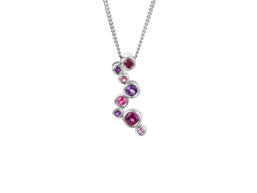 Rhapsody in pink necklace